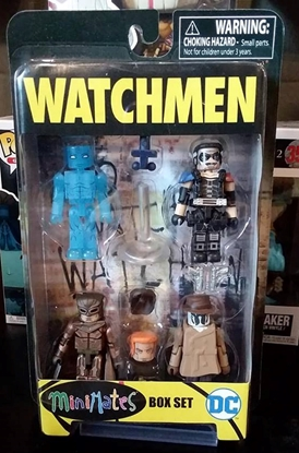 Picture of DIAMOND SELECT TOYS DC WB WATCHMEN MINIMATES BOX SET
