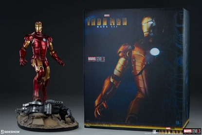 Picture of SIDESHOW Iron Man Mark III Maquette STATUE