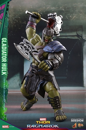 Picture of Gladiator Hulk Thor Ragnarok Movie Masterpiece Series Sixth Scale HOT TOY