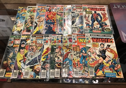Picture of INVADERS (1975) #1-41 + KING-SIZE & ANNUAL SET