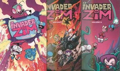 Picture of INVADER ZIM VOL 1 2 3 4 5 TPB SET