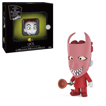 Picture of FUNKO 5 STAR DISNEY NIGHTMARE BEFORE CHRISTMAS LOCK NEW VINYL FIGURE