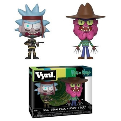 Picture of FUNKO VINYL RICK AND MORTY 2PK SEAL TEAM RICK + SCARY TERRY NEW FIGURES