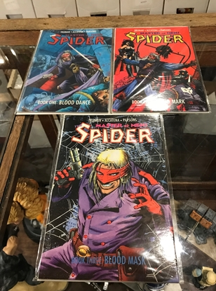 Picture of MASTER OF MEN THE SPIDER #1-3 VF/NM SET