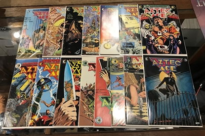 Picture of AZTEC ACE (1984) #1-15 SET VF+