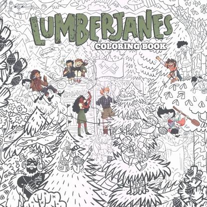 Picture of LUMBERJANES COLORING BOOK TP (C: 0-1-2)