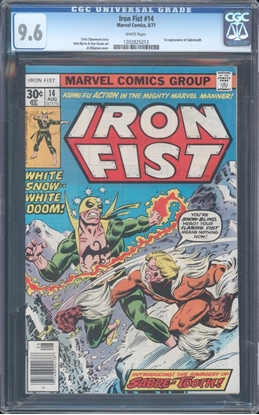 Picture of IRON FIST (1976) #14 CGC 9.6 NM+ WP