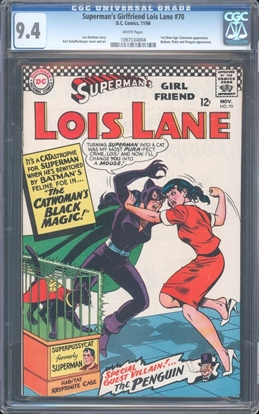 Picture of SUPERMAN'S GIRLFRIEND LOIS LANE #70 CGC 9.4 NM WP