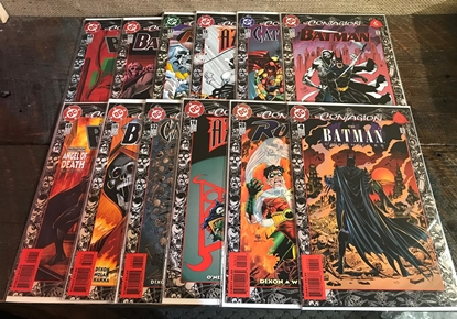 Picture of BATMAN CONTAGION (1992) 12 PART SET VF/NM