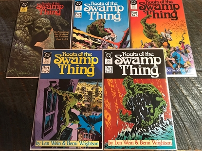 Picture of ROOTS OF THE SWAMP THING (1986) #1-5 SET VF/NM
