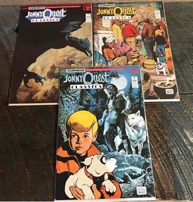 Picture of JOHNNY QUEST CLASSICS #1-3 SET VF/NM