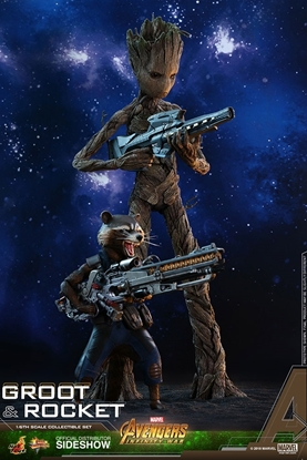 Picture of Groot and Rocket Avengers: Infinity War 1/6TH SCALE