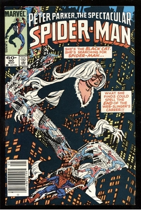 Picture of SPECTACULAR SPIDER-MAN #90 8.5 VF+