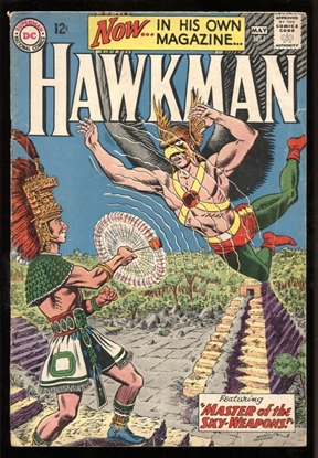 Picture of HAWKMAN (1964) #1 3.0 GD/VG