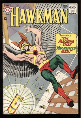Picture of HAWKMAN (1964) #4 5.5 FN- 1ST ZATANNA
