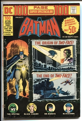 Picture of DC 100 PAGE SUPER SPECTACULAR (1971) #20 9.0 VF/NM