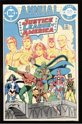 Picture of JUSTICE LEAGUE OF AMERICA ANNUAL #2 9.4 NM