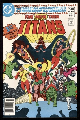 Picture of NEW TEEN TITANS (1980) #1 9.2 NM-