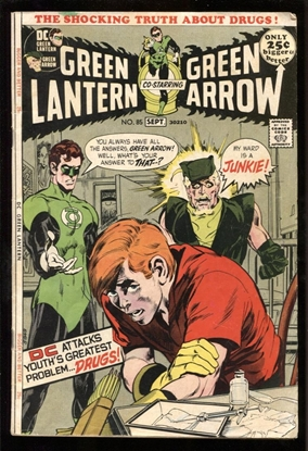 Picture of GREEN LANTERN (1960) #85 4.0 VG