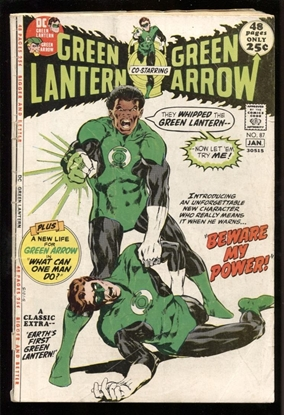 Picture of GREEN LANTERN (1960) #87 2.0 GD
