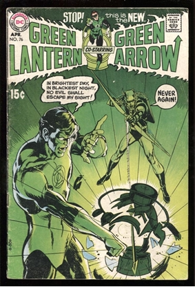 Picture of GREEN LANTERN (1960) #76 4.5 VG+