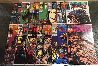 Picture of MARVEL COMICS PRESENTS WEAPON X #72 73 74 75 76 77 78 79 80 81 82 83 84 SET VFNM