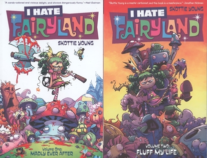 Picture of I HATE FAIRYLAND VOL 1 2 3 4 TPB SET