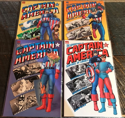 Picture of ADVENTURES OF CAPTAIN AMERICA SENTINEL OF LIBERTY #1-4 SET