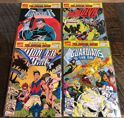 Picture of THE SYSTEM BYTES (1992) #1-4 SET NM-