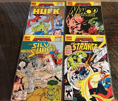 Picture of RETURN OF THE DEFENDERS (1992) #1-4 SET VF/NM