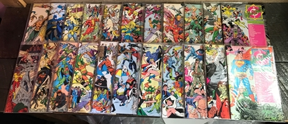 Picture of DC WHO'S WHO (1985) VOLUME #1 26 ISSUES (1987) UPDATE #1-4  (30 BOOKS)