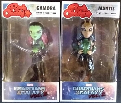 Picture of FUNKO ROCK CANDY G.O.T.G. 2 GAMORA & MANTIS SET NEW VINYL FIGURES