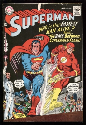 Picture of SUPERMAN (1939) #199 4.0 VG