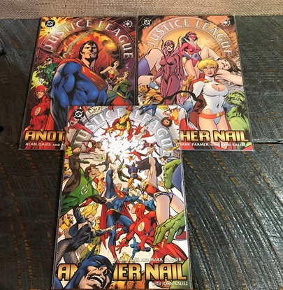 Picture of JUSTICE LEAGUE: ANOTHER NAIL #1-3 NM SET