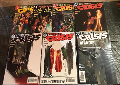 Picture of IDENTITY CRISIS (2004)  #1-7 VF/NM SET
