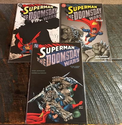 Picture of SUPERMAN DOOMSDAY WARS #1-3 GRAPHIC NOVEL SET VF/NM