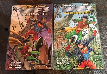 Picture of WF3 WORLD'S FINEST THREE #1 & 2 GRAPHIC NOVEL SET VF/NM