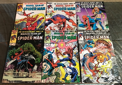 Picture of OFFICIAL MARVEL INDEX MARVEL TEAM-UP (1987) #1-6 VF/NM