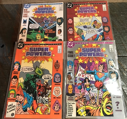 Picture of SUPER POWERS (1986) #1-4 SET MINI SERIES