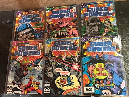 Picture of SUPER POWERS (1985) #1-6 SET MINI SERIES