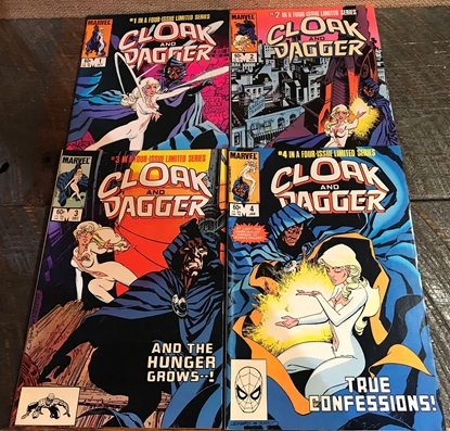 Picture of CLOAK AND DAGGER (1983) #1-4 VF SET