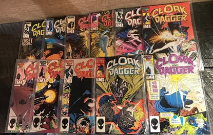 Picture of CLOAK AND DAGGER (1985) #1-11 SET VF/NM