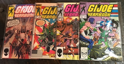 Picture of G.I. JOE YEARBOOK (1985) #1-4 SET VF/NM