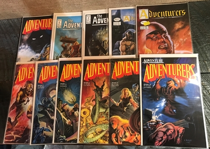 Picture of ADVENTURERS (1986) #0 1-10 SET VF/NM