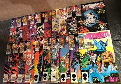 Picture of MICRONAUTS THE NEW VOYAGE (1984) #1-20 COMPLETE SET