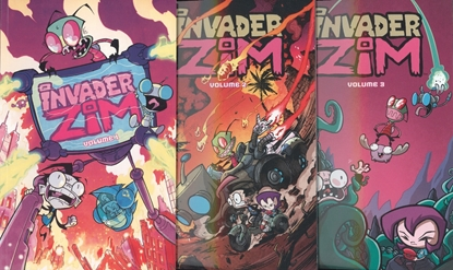 Picture of INVADER ZIM VOL 1 2 3 4 5 6 TPB SET