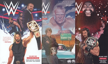 Picture of WWE VOL 1 2 3 TPB SET