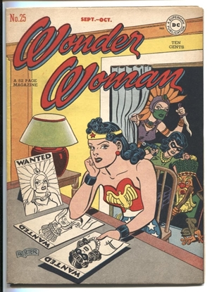 Picture of WONDER WOMAN (1942) #25 8.0 VF