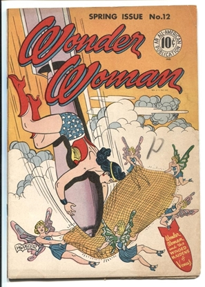 Picture of WONDER WOMAN (1942) #12 5.0 VG/FN