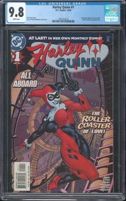 Picture of HARLEY QUINN (2000) #1 CGC 9.8 NM/MT WP